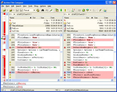 Active File Compare 2.0 screenshot