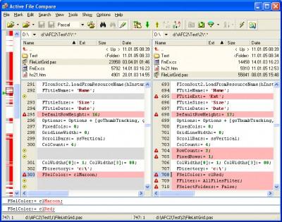 Active File Compare 2.0 screenshot