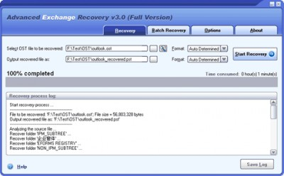 Advanced Exchange Recovery 1.0 screenshot