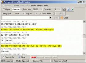 Advanced Serial Port Monitor 3.0.1 screenshot