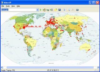 Alien IP 2.41 screenshot