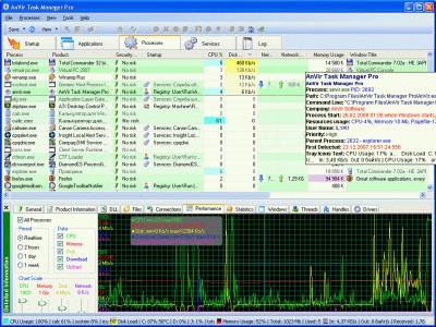 AnVir Virus Destroyer 3.7 screenshot