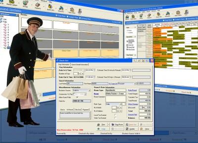 ASI FrontDesk Hotel Software 5.3 screenshot