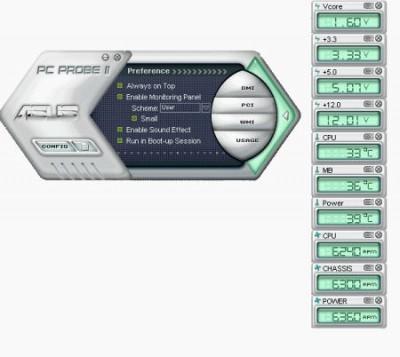 ASUS PCProbe II 1.03.05 screenshot