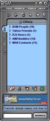 Blowsearch Secured Messenger 2.1.0 screenshot