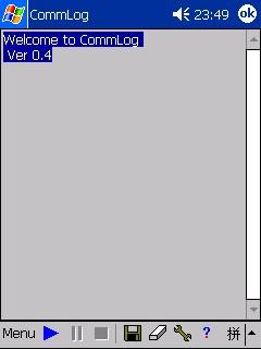 CommLog for CE 0.4 screenshot