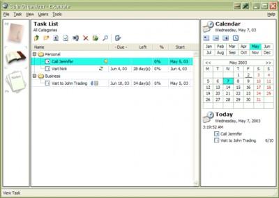 Cute Organizer 3.0 screenshot