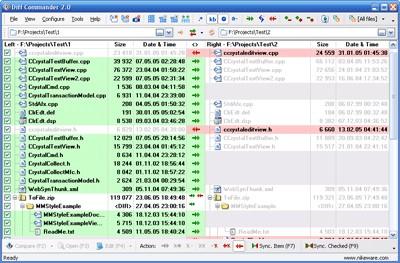 Diff Commander 2.60 Build 0404 screenshot