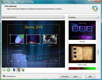 Exsate VideoExpress 3.0.3.557 screenshot