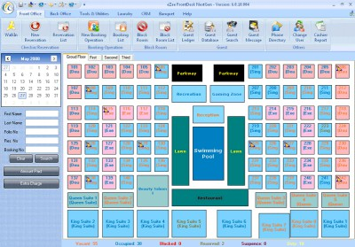 eZee FrontDesk Hotel Software 5.2 screenshot