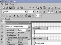 FastReport VCL 2.56 screenshot