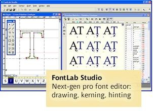 Fontlab Studio 5.0 screenshot