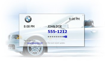 fonXL Call Display Screen Saver 1.0.2 screenshot