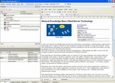 General Knowledge Base 1.0 screenshot