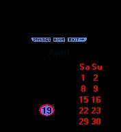 GreetSoft Desktop Clock 5.0.1087 screenshot