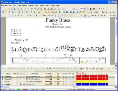 Guitar Pro 5.2 screenshot