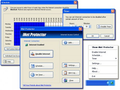 iNet Protector 4.7 screenshot
