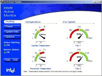 Intel Active Monitor 1.2.1 screenshot