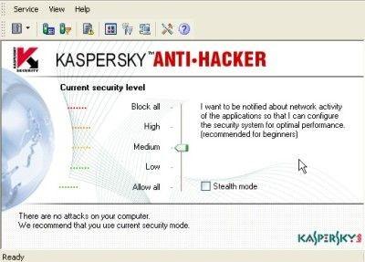 Kaspersky Personal Security Suite 1.0 screenshot