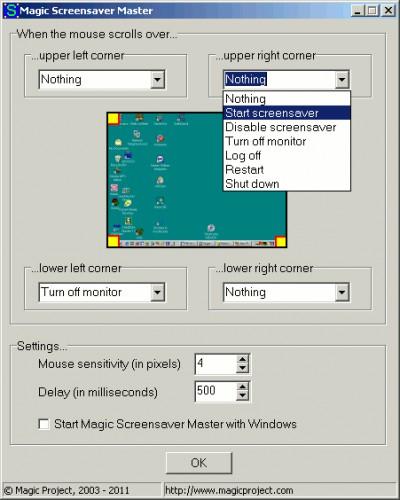 Magic Screensaver Master 1.0 screenshot