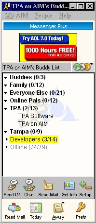 Messenger Plus! 4.11.254 screenshot