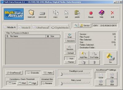 Multi Data Rescue 4.1 screenshot
