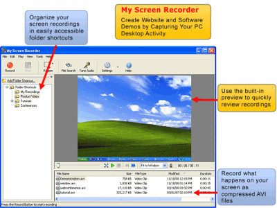 My Screen Recorder 5.17 screenshot