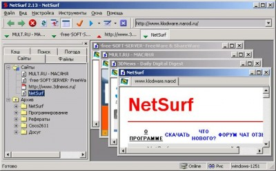 NetSurf 3.071 screenshot