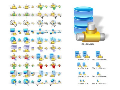 Network Icon Library 5.21 screenshot
