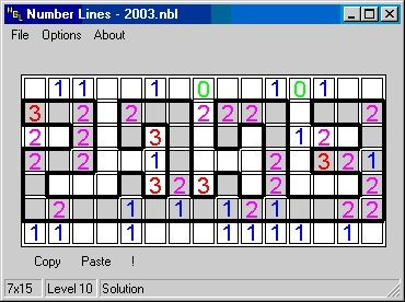 Number Lines 1.2.1 screenshot
