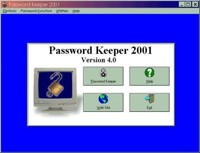 Password Keeper 7.5 screenshot