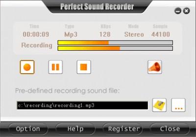Perfect Sound Recorder 7.3.9 screenshot