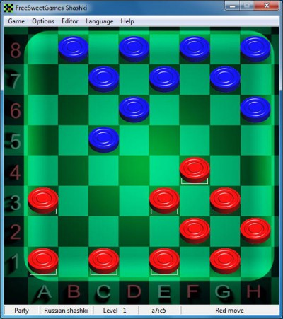 Шашки 2.34 screenshot