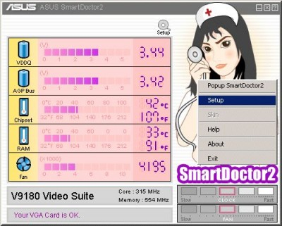 SmartDoctor 4.78 screenshot