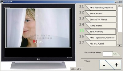 Stream TV 1.1 screenshot