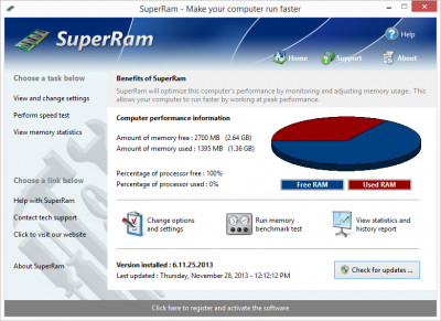 SuperRam 7.6.4.2018 screenshot