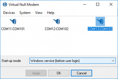 Virtual Null Modem 2.6.1.606 screenshot