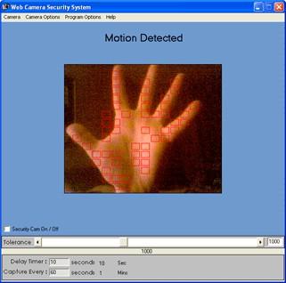 Web Camera Security System 1.0 screenshot