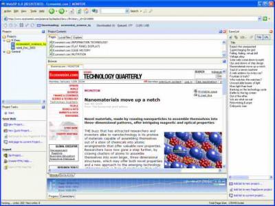 WebZIP 7.1.2.1052 screenshot