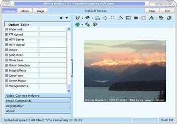 Willing Webcam Lite 3.5 screenshot