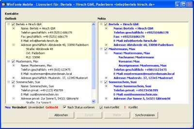 WinFonie Mobile v1.9.38 screenshot